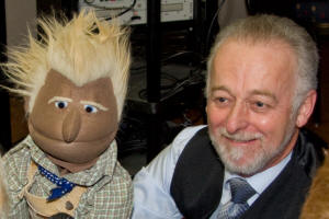 Puppeteer Ken Bishop teaches puppetry and camps, performs at special events, schools, festivals and company parties.