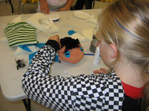 Puppetry Workshops - create your own puppet and story!